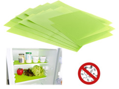 10 tapis de réfrigérateur antibactériens et désodorisants