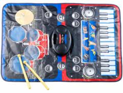 Tapis instrumental tactile  ''Clavier + Batterie''