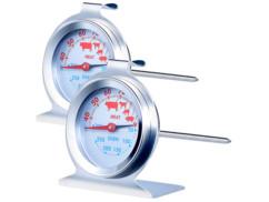 2 thermomètres four et cuisson