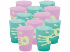 12 gobelets à couleur changeante