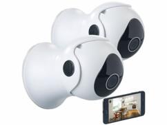 2 caméras de surveillance IP HD compatibles Echo Show IPC-340.echo