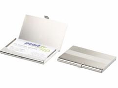 2 étuis pour cartes de visite et cartes de crédit ultrafin et RFID