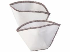 2 filtres à café réutilisables en acier inoxydable - Pour 1 à 2 tasses