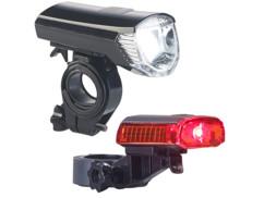 Deux lampes de sécurité LED Pearl pour vélo.