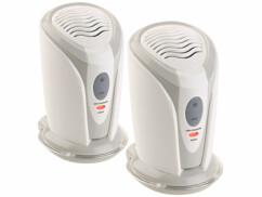 2 mini ioniseurs et purificateurs d'air pour espaces confinés