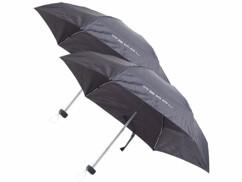2 mini parapluies 16 cm avec housses de rangement
