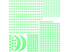 """2 palettes de 300 stickers phosphorescents """"Ciel Étoilé"""""""