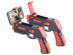 """2 pistolets de réalité augmentée avec bluetooth pour smartphones jusqu'à 5,5"""""""
