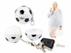 2 porte-clés avec ponchos imperméables à l'intérieur