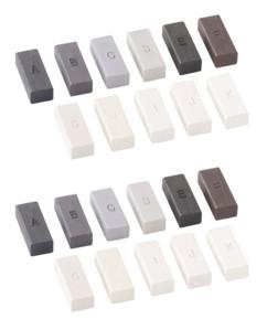 2 sets de cires pour réparateur sols plastiques AGT