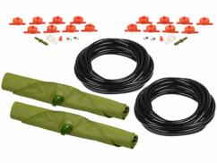 2 systèmes d'irrigation 11L avec 8compte-gouttes réglables