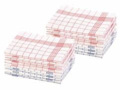 24 torchons à vaisselle 70 x 50 cm certifiés OEKO-TEX® Standard 100