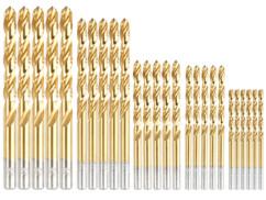 Lot de 25 forets HSS revêtement titane AGT.