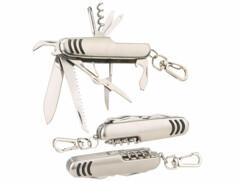3 couteaux de poche multifonction 11 en 1