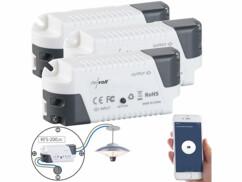 3 récepteurs sans fil KFS-200.rc compatibles Amazon Alexa & Google Assistant