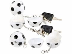 4 porte-clés avec ponchos imperméables à l'intérieur