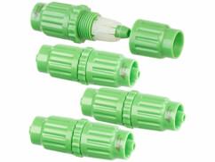 4 raccords de réparation pour tuyaux d'arrosage PRO.V2 et PRO.V5