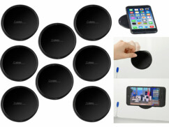 8 supports et patchs en gel auto-adhérent pour smartphone