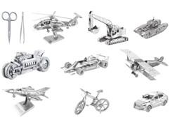 Lot de 9 maquettes 3D en métal, par Playtactic.