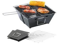 Barbecue pliable plat à charbon