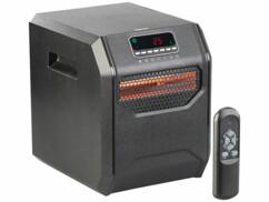 Chauffage soufflant infrarouge1500W avec minuteur et télécommande : LV-900.ir