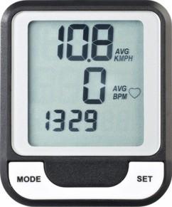 Compteur vélo multifonction BC-100.wl - Filaire