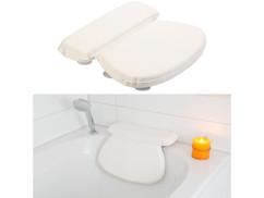Coussin de baignoire avec surface lisse et ventouses