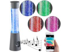 Lampe RGB à paillettes avec haut-parleur bluetooth