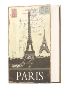 Livre coffre-fort en acier dissimulé - livre de voyage
