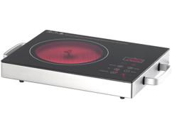Plaque de cuisson vitrocéramique 2000W.