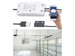 Récepteur connecté pour porte de garage VisorTech.