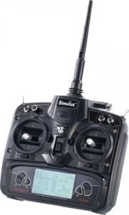 Télécommande DEVO-7 pour quadricoptère Simulus