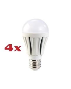 4x ampoule LED supra-puissante 12 W, culot E27, blanc neutre