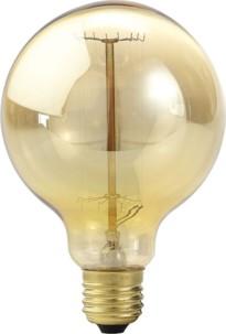 Ampoule à filament, look rétro XL - forme Sphère