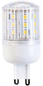Ampoule compacte LED 3 W avec éclairage 360° - GU9 - Blanc