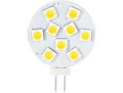 Ampoule LED SMD à culot G4 - blanc chaud - 1,8 W