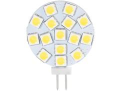 Ampoule LED SMD à culot G4 - blanc chaud - 3 W