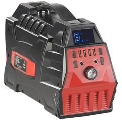 Batterie nomade 80 Ah & convertisseur solaire avec prises 230 V/12 V/USB HSG-800