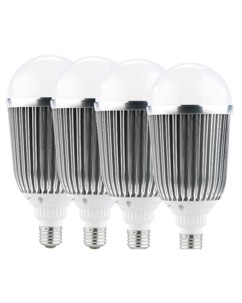 Lot de 4 ampoules LED XXL - E27 - 18 W - blanc chaud