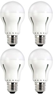 Pack de 4 ampoules LED E27 12 W dimmable Super Intensité - Blanc chaud