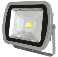 Projecteur LED extérieur étanche 80 W - blanc chaud