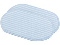 Deux patchs de balai FPW-800 Sichler pour laver les tapis.