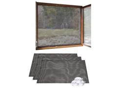 3 moustiquaires pour fenêtre