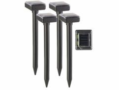 4 dispositifs anti-taupe solaires 400 Hz