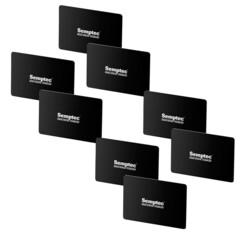 8 cartes de protection RFID & NFC format carte bancaire