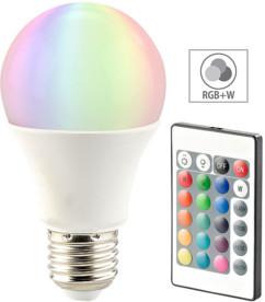Ampoule LED RVB E27 blanc chaud 10 W télécommandée
