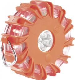 Avertisseur de danger magnétique à LED - Orange