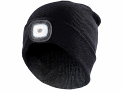 Bonnet à LED mixte taille universelle alimenté par piles par Lunartec