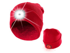 Bonnet à LED avant et arrière - Rouge