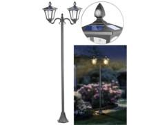 Double lampadaire à LED solaire Royal Gardineer.